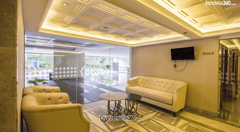 lobby apartemen the mansion bougenville kemayoran