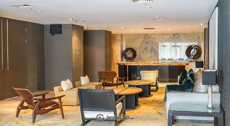lobby apartemen verde residence
