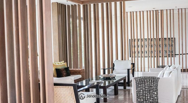 lobby 2 apartemen verde residence