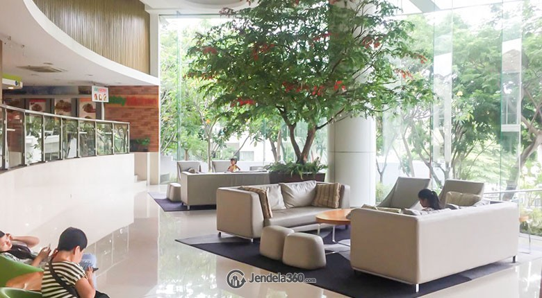 Lobby Ancol Mansion Apartment
