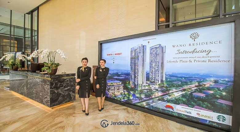 Lobby Apartemen Wang Residences