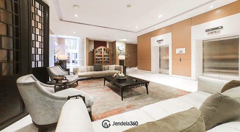 lobby Apartemen ST Moritz Apartment