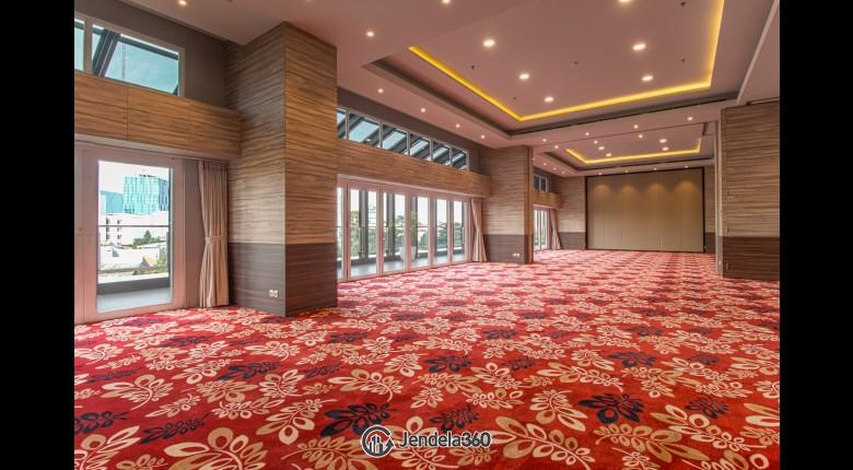 lobby Maqna Residence Apartment