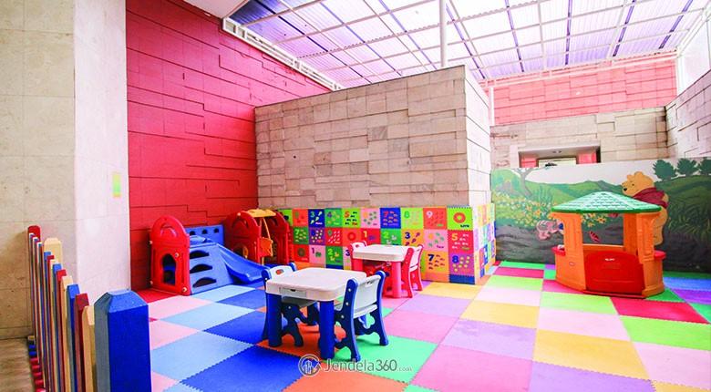 ruangan bermain anak di apartemen bellagio mansion