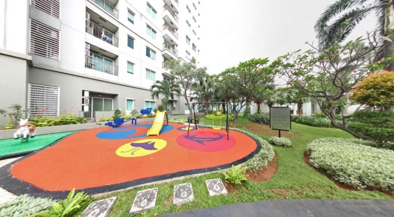 Taman bermain di Apartemen Thamrin Residence