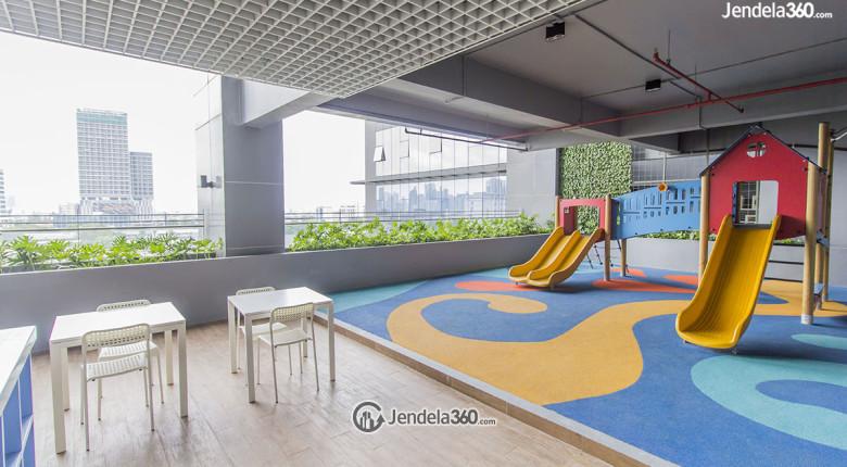 taman bermain anak di apartemen L'avenue