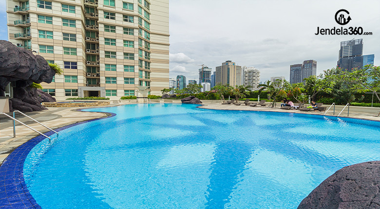 kolam renang apartemen batavia