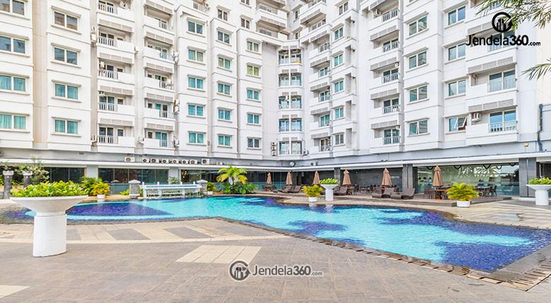 kolam renang apartemen poins square