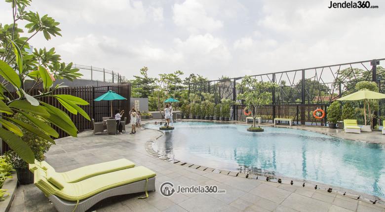 kolam renang 3 di apartemen L'avenue