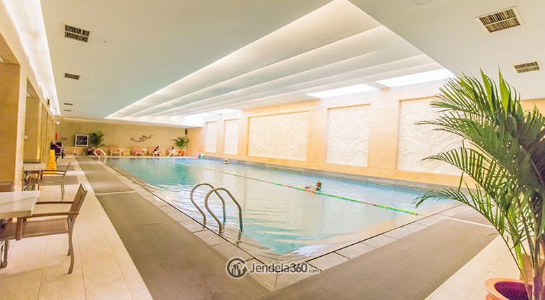 kolam renang apartemen pakubuwono residence