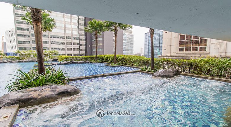 kolam renang apartemen sahid sudirman residence