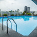 kolam renang di Purnawarman Executive Mansion