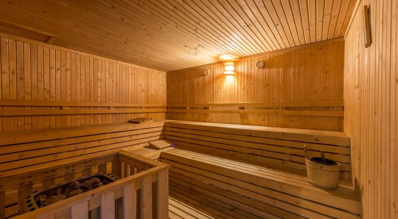 fasilitas sauna di apartemen signature park