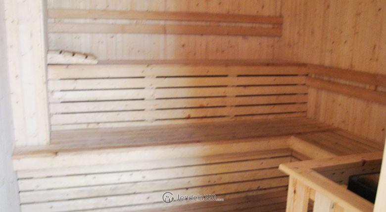 fasilitas sauna di apartemen bassura city