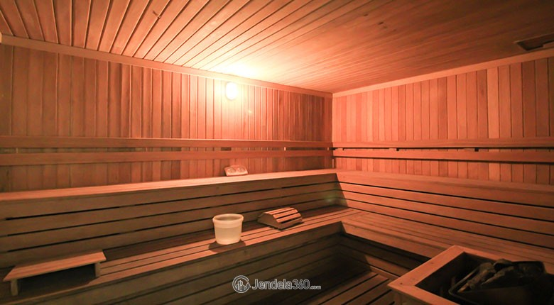 sauna the mansion bougenville kemayoran apartment