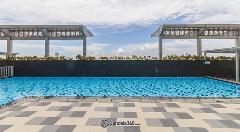 kolam renang apartemen cosmo terrace