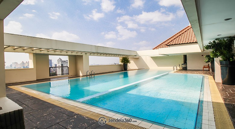 Swimming Pool Menteng Regency Apartment