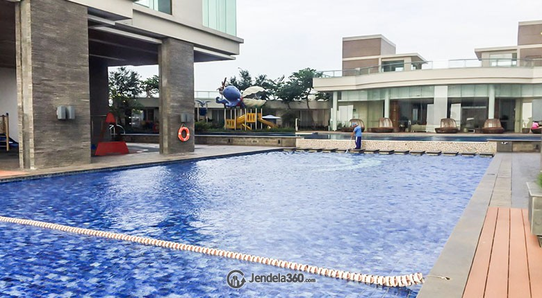Swimming Pool Apartemen Ancol Mansion Apartment