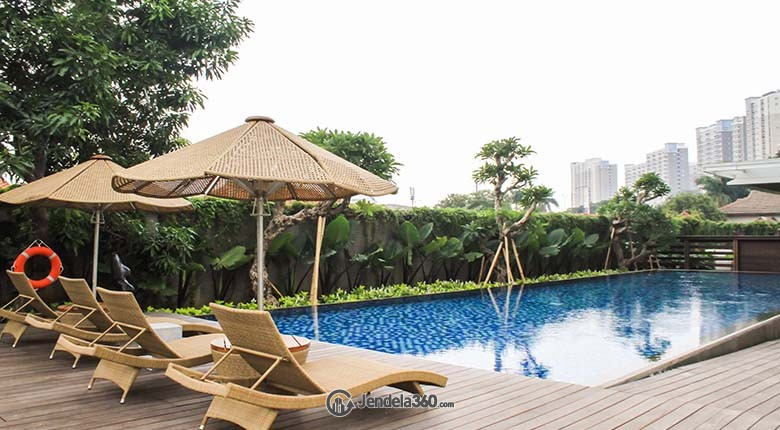 Swimming Pool Apartemen Veranda Residences