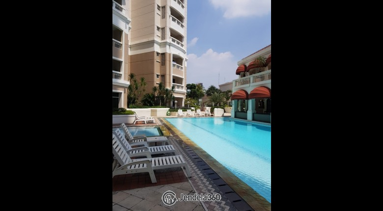 swimming pool Kedoya Elok Apartment