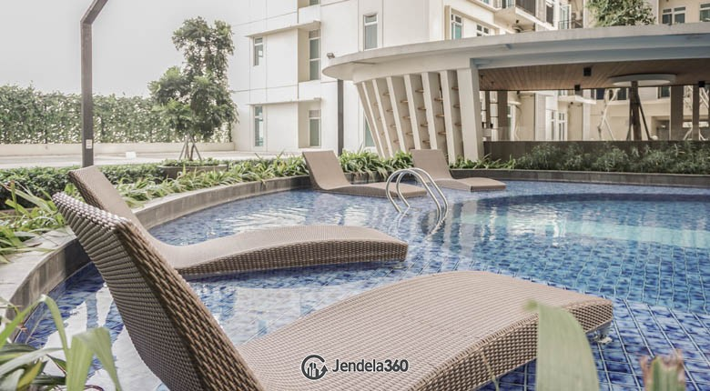 swimming pool Puri Orchard Apartment Apartment