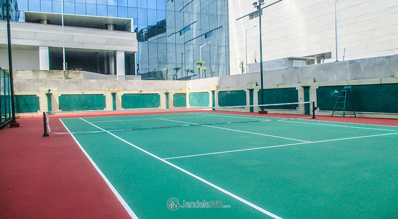 tennis court permata senayan apartment