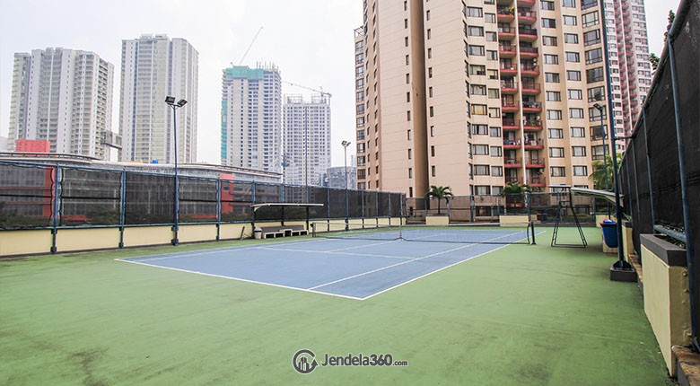 Lapangan Tenis Taman Rasuna