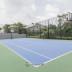 Lapangan basket dan volley di Apartemen L'Avenue