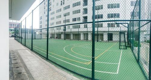 lapangan basket apartemen bassura city