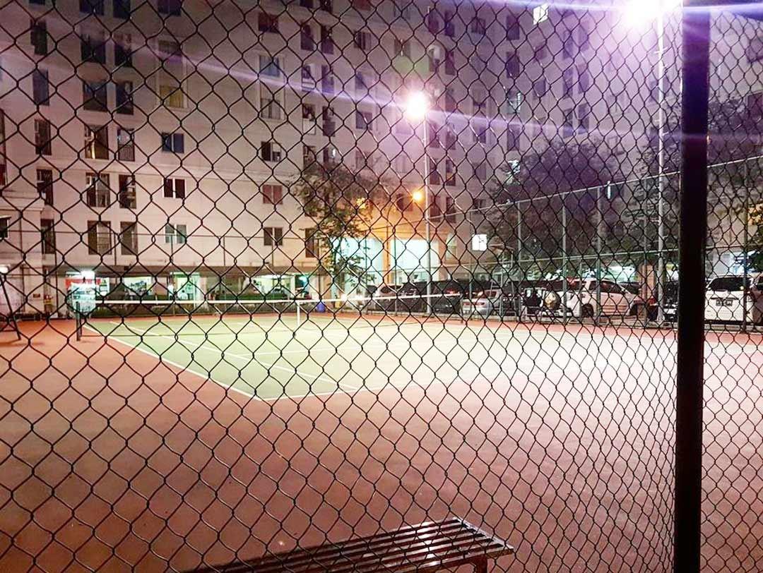 lapangan tenis kalibata city