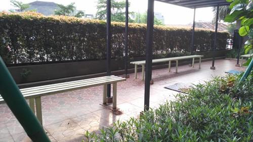 Sitting area puri park view