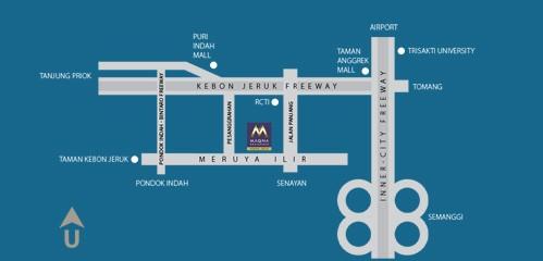 siteplan maqna residence