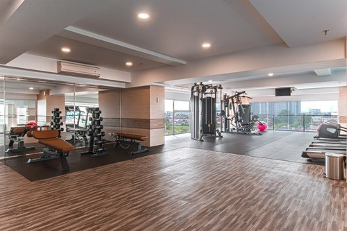 fitness center maqna residence