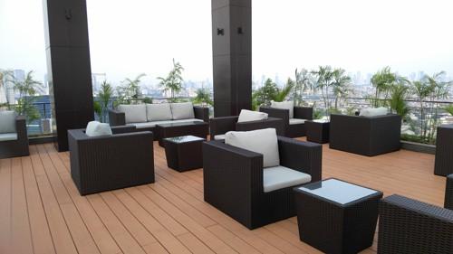 Rooftop Garden maqna residence