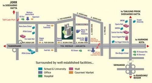 Siteplan metro park residence