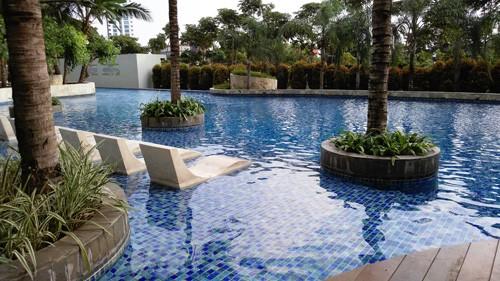 kolam renang metro park residence