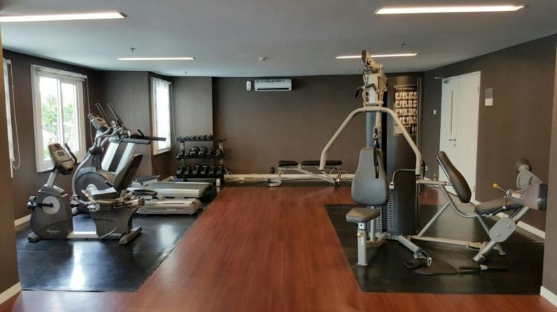 gym metro park residence