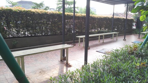 Sitting area puri park view