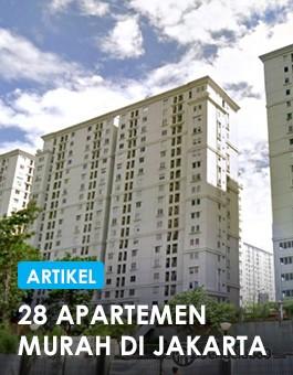 28 apartemen murah br di jakarta