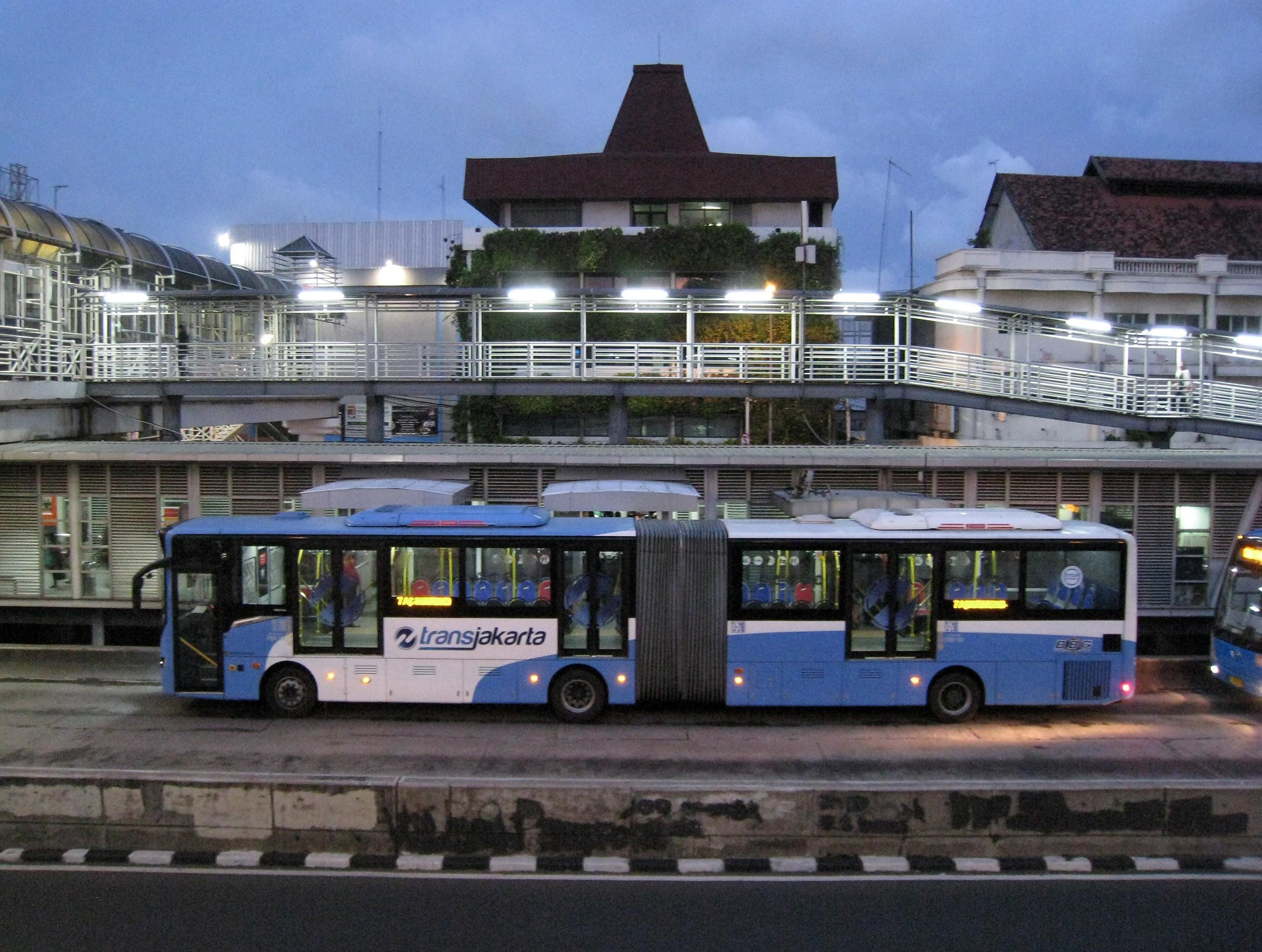 transportation di pasar baru