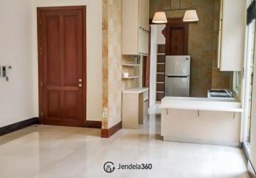 Cik Ditiro Residence 3BR Semi Furnished