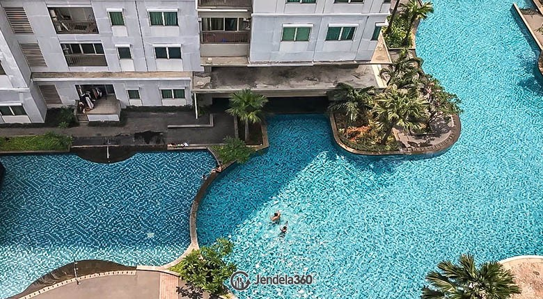 balcony Thamrin Residence Apartment