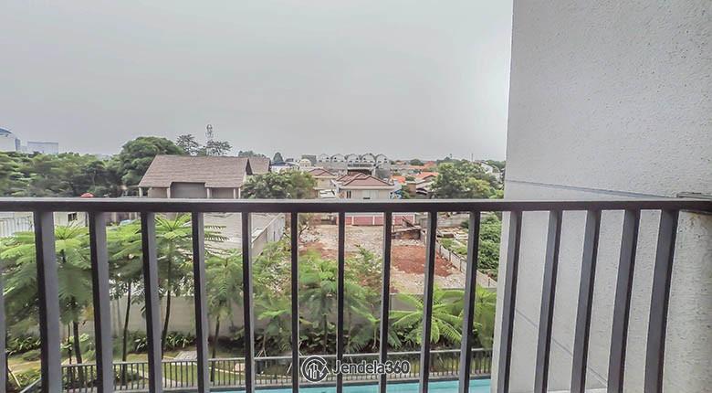 balcony Apartemen Lexington Residences