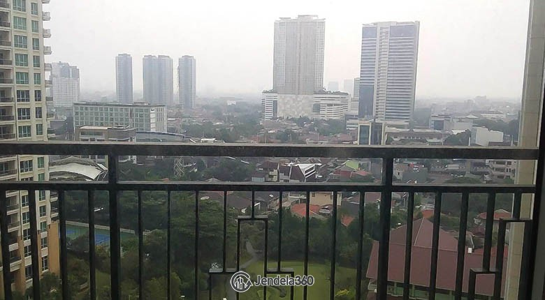balcony Pakubuwono View Apartment