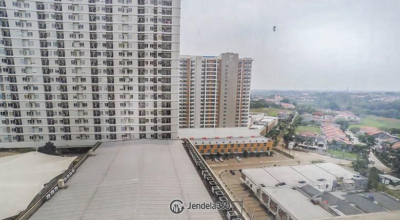 balcony Cinere Bellevue Suites Apartment Apartment