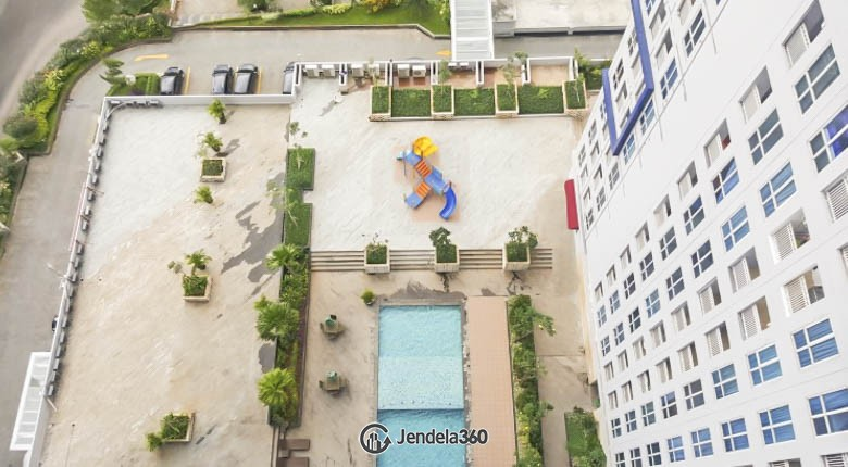 balcony Apartemen Grand Dhika City Apartment