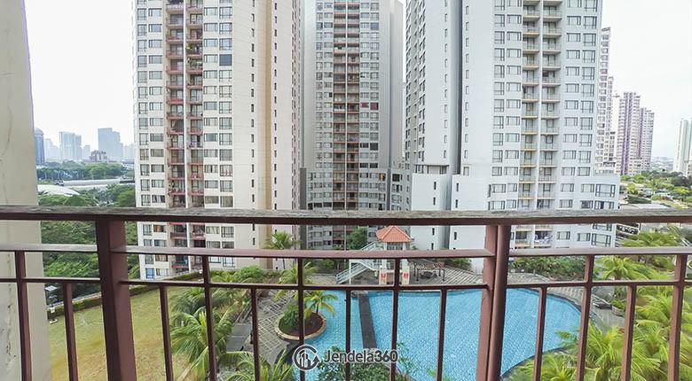 balcony Taman Rasuna Apartment