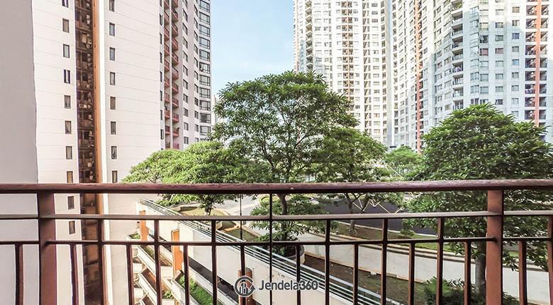 balcony Taman Rasuna Apartment Apartment