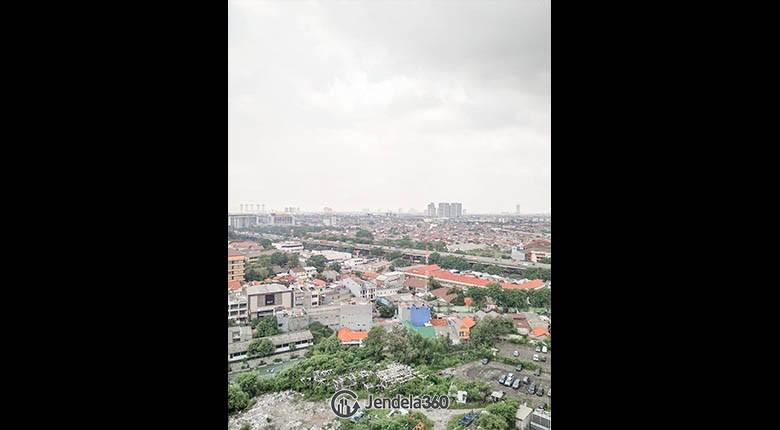 balcony Green Pramuka City Apartment Apartment