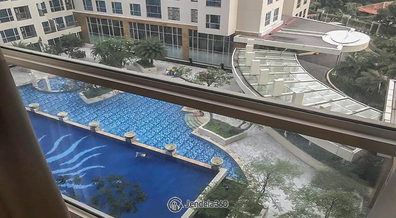 balcony Apartemen Casa Grande Apartment